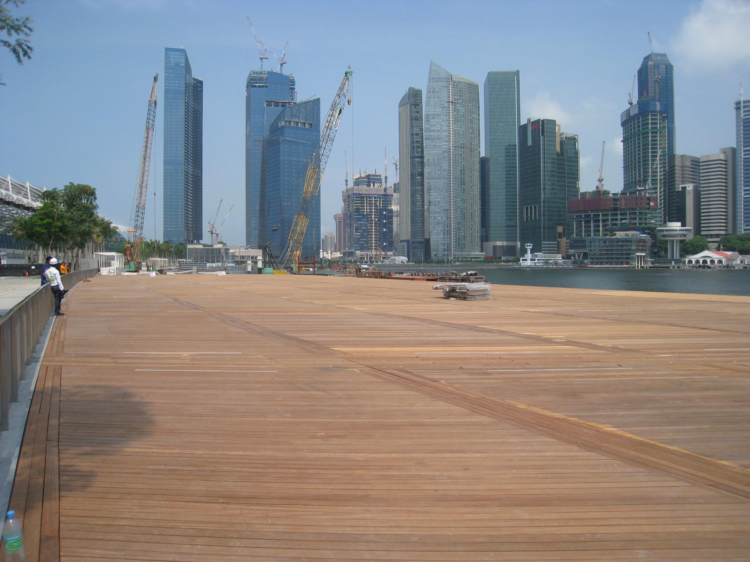 Marine Bay Sands Decking Sitra